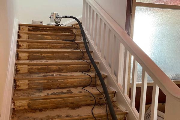 Treppenstufen-schleifen